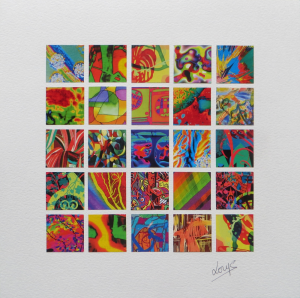 Lorys Collages 5x5 Pinch of Psychedelic